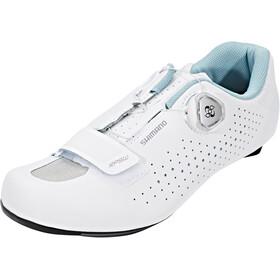 Shimano SH-RP5 - Zapatillas Mujer - blanco/Turquesa